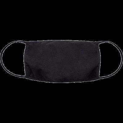 Маска черная, защитная из нетканного материала, спанбонд