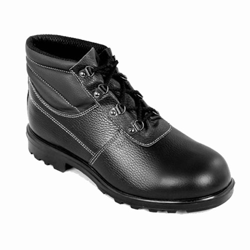 Д130 Ботинки НИТРО кожаные