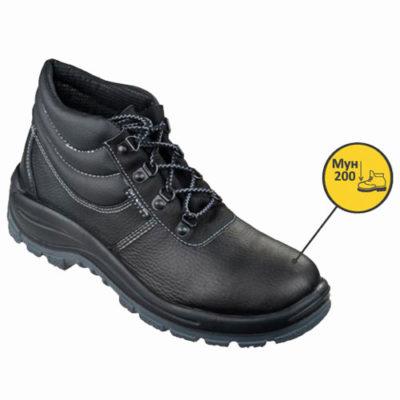 Д138 Ботинки ДЕСМА кожаные с металлическим подноском