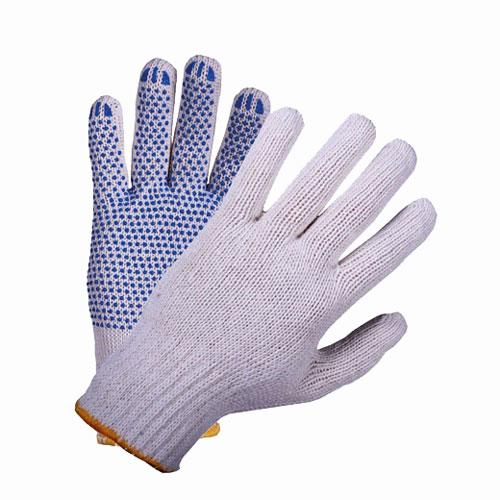 В203 Перчатки трикотажные с ПВХ 10-й класс