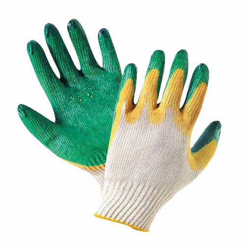 В206 Перчатки трикотажные с 2-м латексным покрытием
