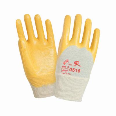 В210 Перчатки НИТРИЛ ЛАЙТ с легким нитриловым покрытием, трикотажный манжет, покрытие ладони