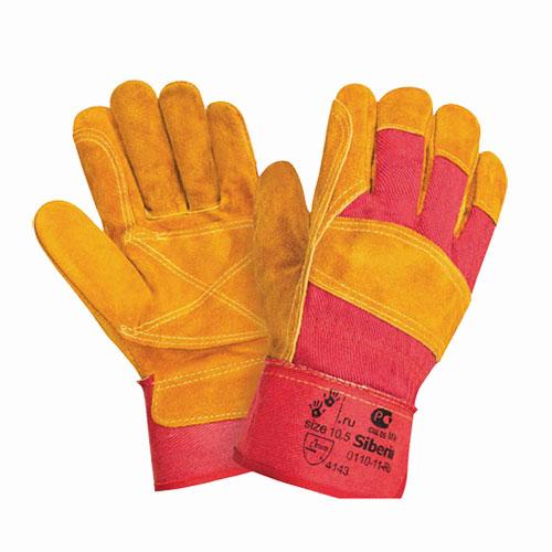 В218 Перчатки СПИЛКОВЫЕ комбинированные, усиленные