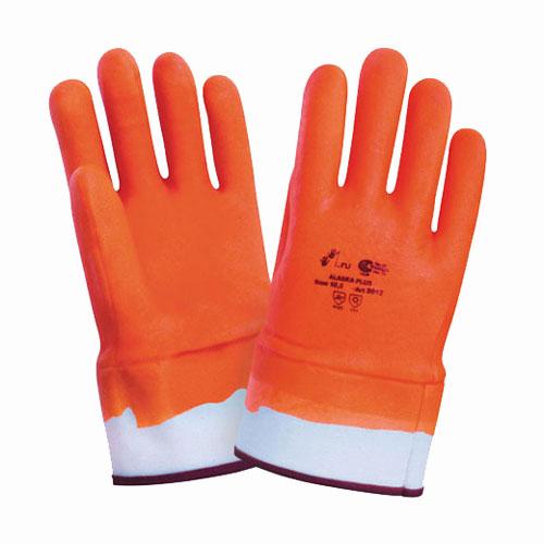 В233 Перчатки морозоустойчивые ПВХ крага