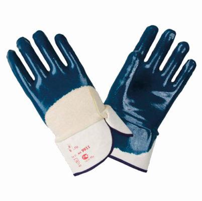 В243 Перчатки 9911 КЧ с нитриловым покрытием, крага, покрытие ладони