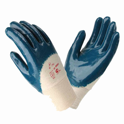 В245 Перчатки 9901 РЧ с нитриловым покрытием, трикотажный манжет, покрытие ладони
